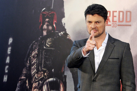 New Zealand actor Karl Urban poses during a photocall for Dredd 3D (NZN)