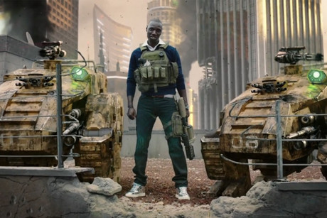 Omar Sy in the Call of Duty: Black Ops II 'Surprise' trailer