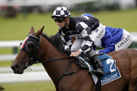 Shez Sinsational and jockey James McDonald (Photosport file)