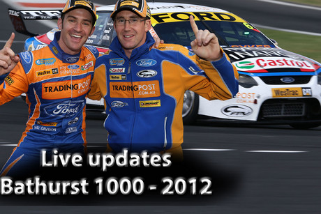 The pairing of Will Davison and John McIntyre have pole position for Bathurst
