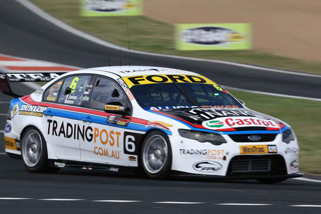 Davison started the race from pole position (NZN)