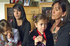The family of killed soldier Corporal Luke Tamatea