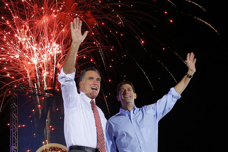 Mitt Romney and Paul Ryan (Reuters)