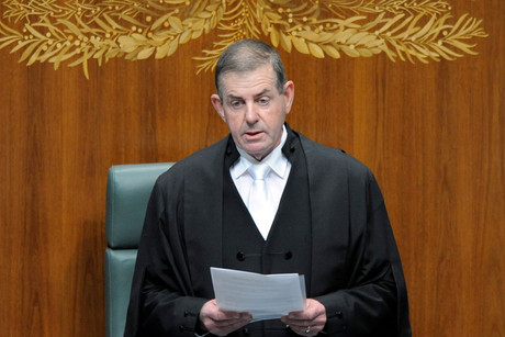 Former Australian parliament speaker Peter Slipper (NZN)