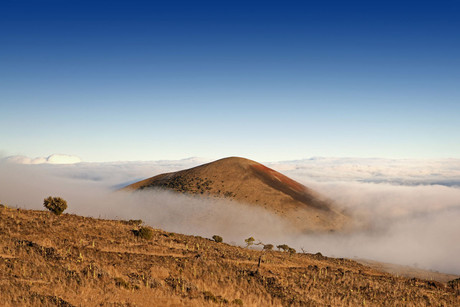 View from Hawaii's Mauna Kea