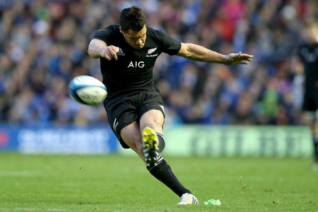 Dan Carter found sublime form against Scotland (Photosport)