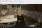 Call of Duty: Black Ops II was live-streamed to YouTube from Gamescom