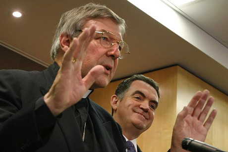 Sydney Archbishop Cardinal George Pell says the church will cooperate with the inquiry (Reuters file)
