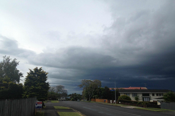 Grady Connell sent in this photo taken from Pukekohe
