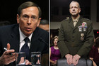 David Petraeus (L) and General John Allen (R) (Reuters file)