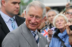 Prince Charles in Auckland yesterday (AAP)