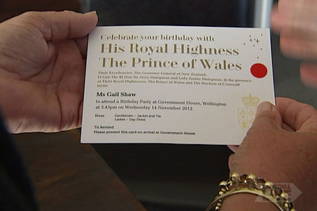 Sixty-four people were invited to Prince Charles' birthday bash
