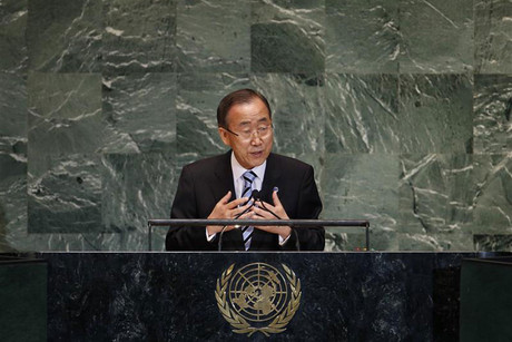 United Nations Secretary-General Ban Ki-moon (Reuters)