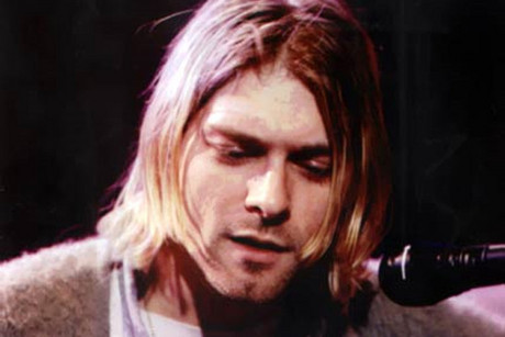 Nirvana frontman Kurt Cobain