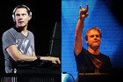 Tiesto, Armin Van Buuren (Photos: Reuters)