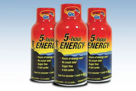 The FDA has received 92 reports over four years related to 5-Hour Energy drinks