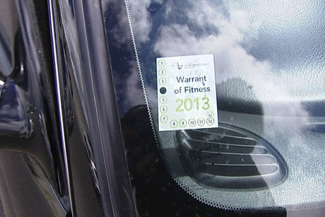 Drivers can be fined $200 for not having an up-to-date Warrant of Fitness