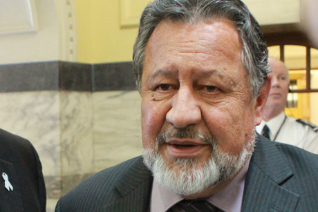 Maori Affairs Minister Pita Sharples