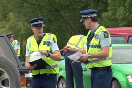 Police have set up a checkpoint near the bridge just south of Timaru to ask passing motorists if they remember seeing anything usual last Thursday afternoon