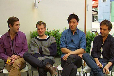 Grizzly Bear are in New Zealand for the first time