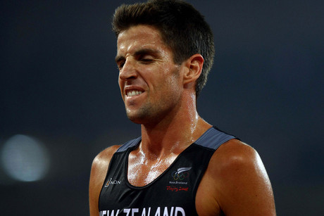Olympian and New Zealand 5000m record holder Adrian Blincoe (file pic)