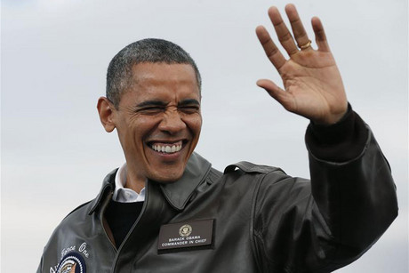 Barack Obama in Wisconsin (Reuters)