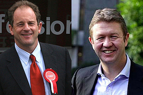David Shearer and David Cunliffe