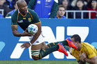 Boks' winger JP Pietersen has what has been described as a mild groin strain (Reuters)