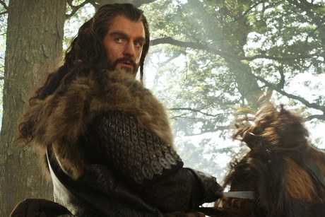 Richard Armitage in a still from The Hobbit: An Unexpected Journey