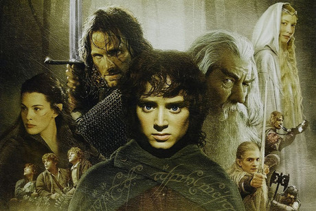 Lord of the Rings movie poster art
