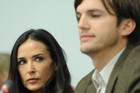 Demi Moore and Ashton Kutcher (AAP)
