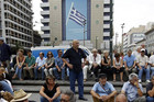 Greeks are angry at the European Union's inability to agree on a bailout loan (Reuters file)