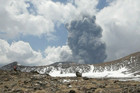 Mt Tongariro erupts (Photo: 90 Seconds TV)