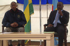 Democratic Republic of Congo's President Joseph Kabila (R) and his Rwandan counterpart Paul Kagame (Reuters)