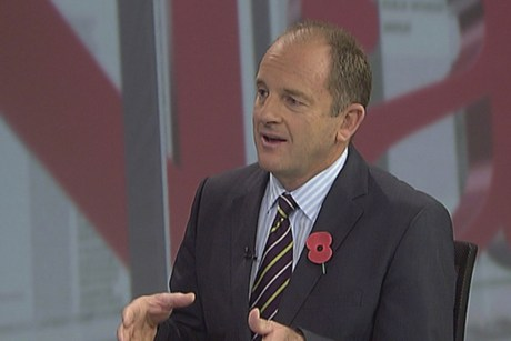 David Shearer appeared on TV3's The Nation this morning  (file)