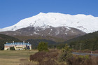 Chateau Tongariro has stood tall in the face of eruptions for more than 80 years