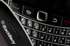 Blackberry phone with a keyboard (Reuters)