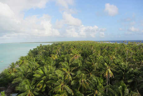 The men went missing near Kiribati (file pic)