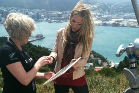 Debbie Matenopoulos says she likes the 'vibe' of Wellington (photo: Rachel Tiffen / 3 News)
