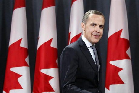 Mark Carney, currently the head of Canada's central bank (Reuters)