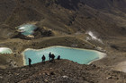 A view from the Tongariro Crossing (file)