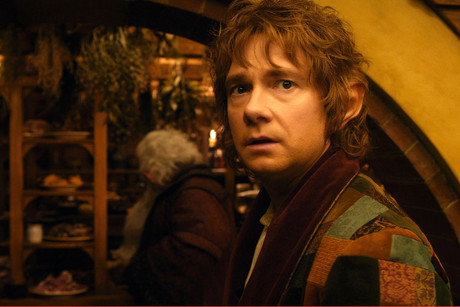 A still from 'The Hobbit: An Unexpected Journey', which has its world premiere in Wellington on Wednesday (AAP)