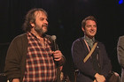 Peter Jackson and Elijah Wood