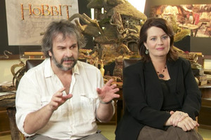 Sir Peter Jackson says he finished the film yesterday morning