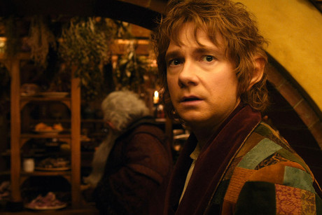 Bilbo Baggins, played by Martin Freeman
