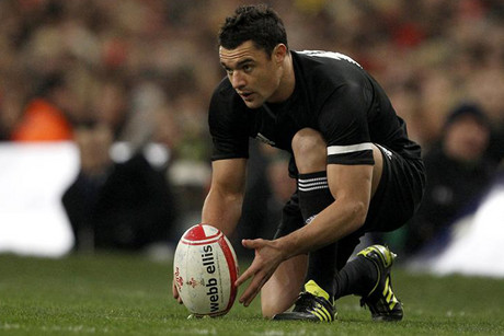 Dan Carter is confident he'll be ready for England this weekend (Reuters file)