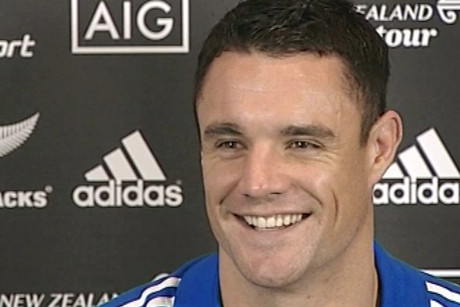 All Blacks' first five Dan carter speaks about the pregnancy and is 'excited' at the thought of becoming a father