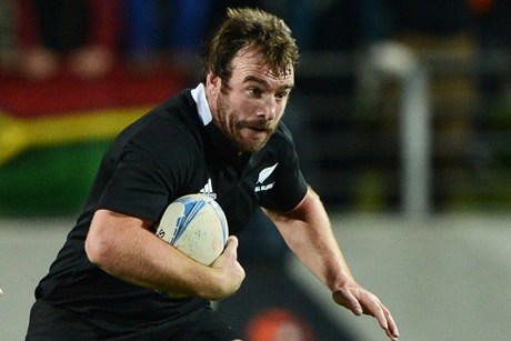 All Blacks hooker Andrew Hore has copped a lengthy ban for the King Hit on Wales' Bradley Davies (file pic)