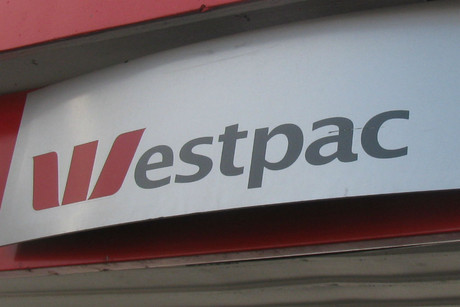 The explosion reportedly happened in the Westpac building on Queen St (file pic)