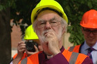 Dr Rowan Williams, the Archbishop of Canterbury, wouldn't be drawn on whether he thinks the building should be saved